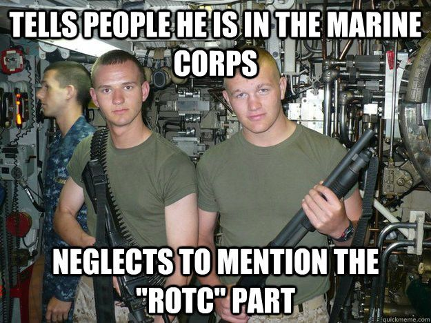 The 13 Funniest Military Memes Of The Week We Are The Mighty Rotc Memes Military Memes Marine Memes
