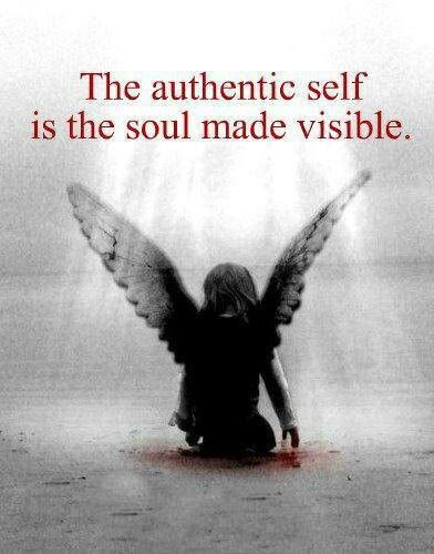 The soul made visible!