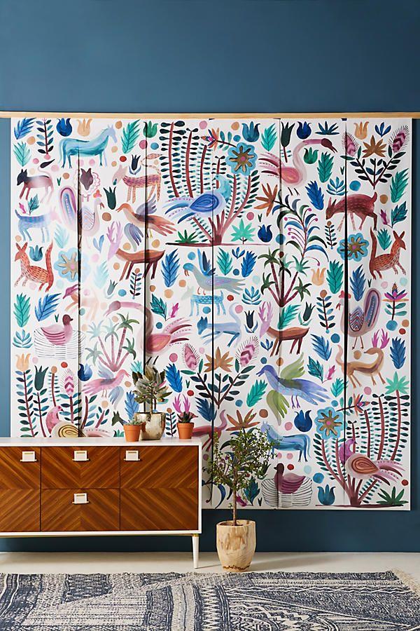 Melika Mural Wall murals, Unique wallpaper, Forest mural