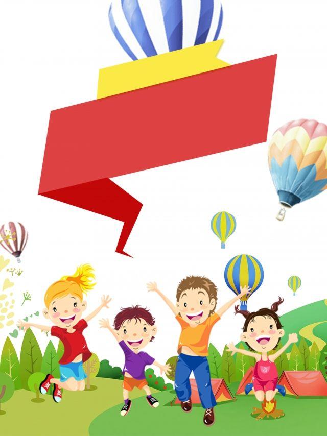 Summer Camp Advertising Balloon Background | Balloon ...