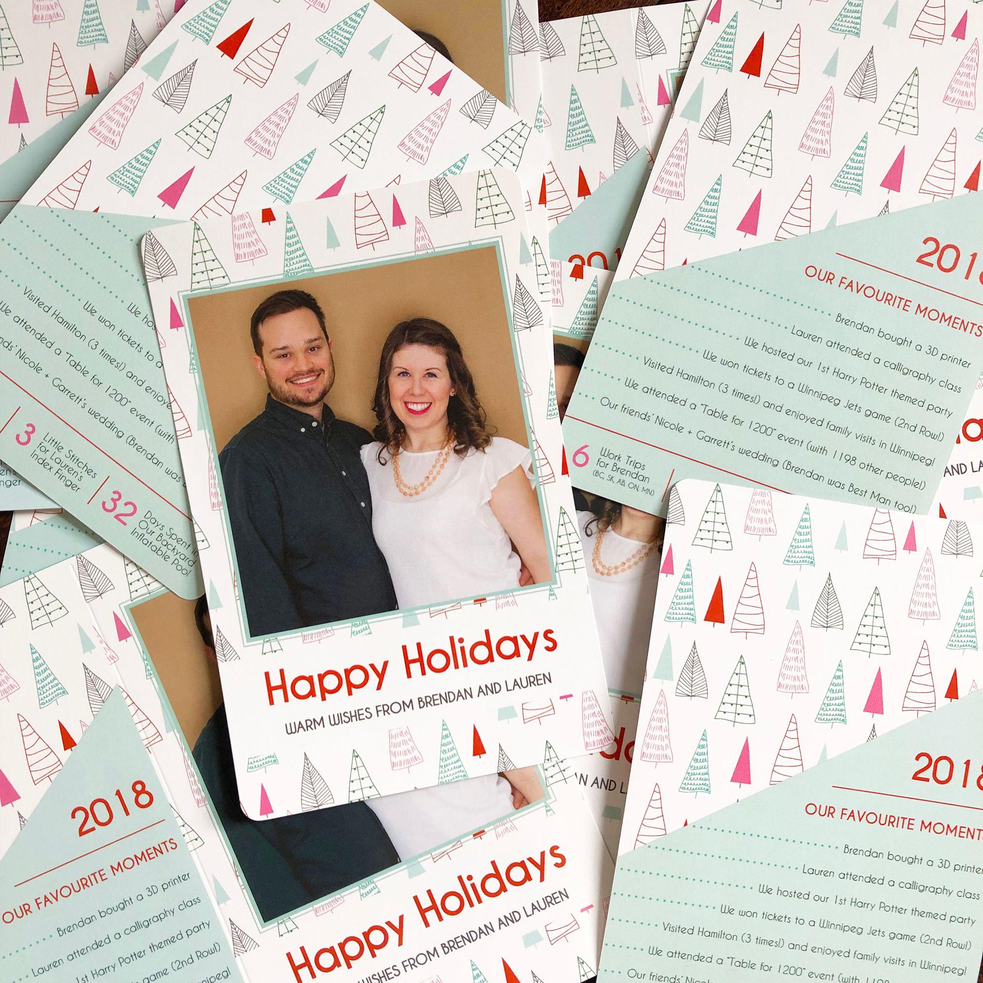 Custom Holiday Greeting Card | Christmas Card | Lauren Baker