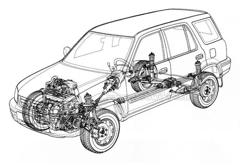 1999 mazda engine diagram