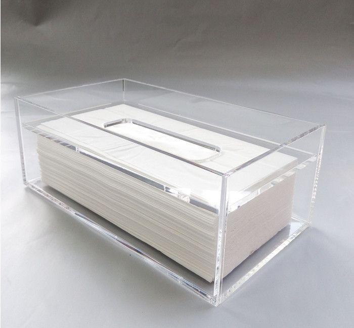 Acrylic Transparent Tissue Box ,Acrylic Storage Box High End Fashion  Creative Business, ,