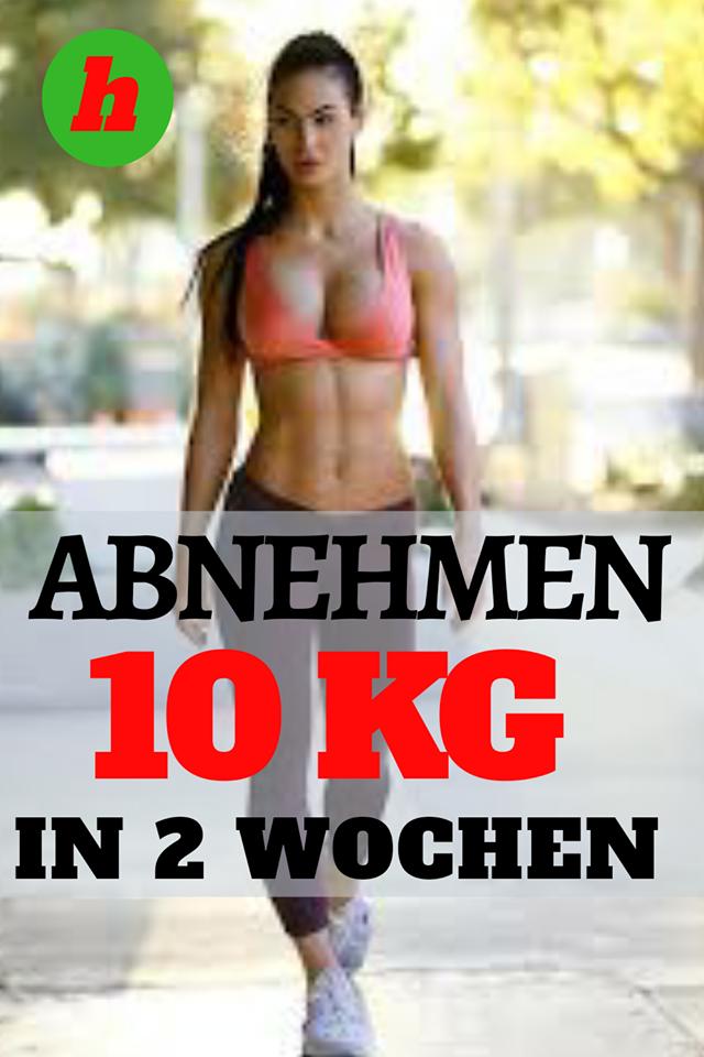 Diät, um 10 Kilo in 2 Wochen zu verlieren