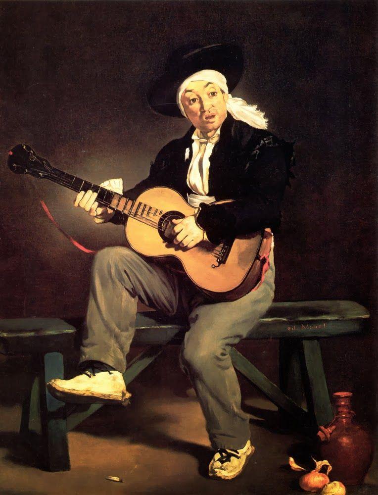 Édouard Manet The Spanish Singer 1860