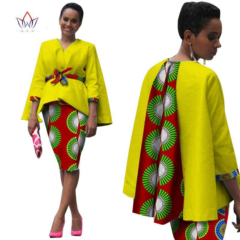 acheter afrique style femmes africain v tements deux pi ces ensemble robe. Black Bedroom Furniture Sets. Home Design Ideas