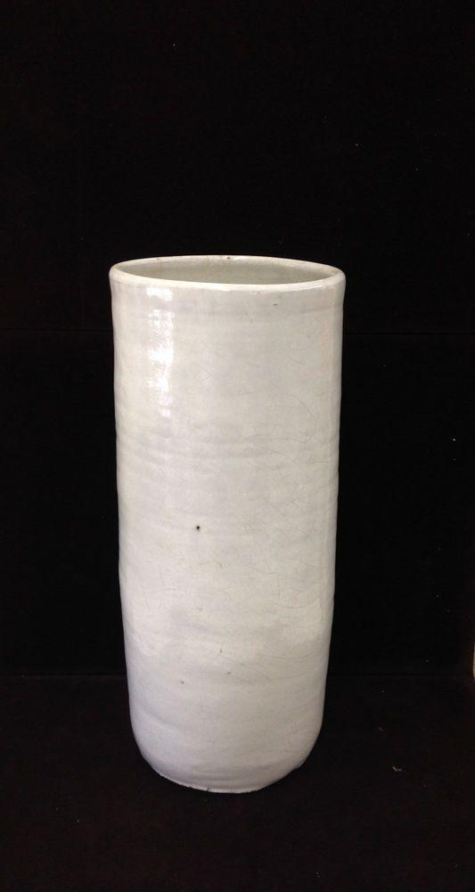 Arle Pottery Sanford North Carolina Umbrella Vase Stand North