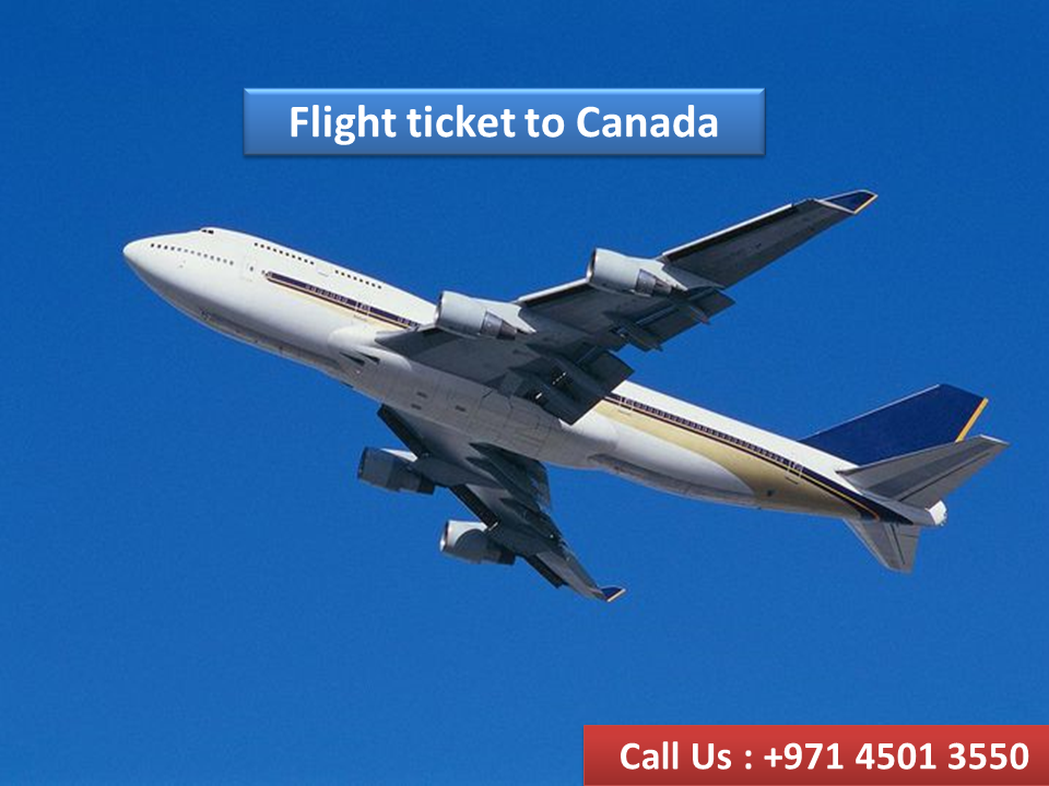 Flight ticket to Canada, Contact at Easy Can Immigration