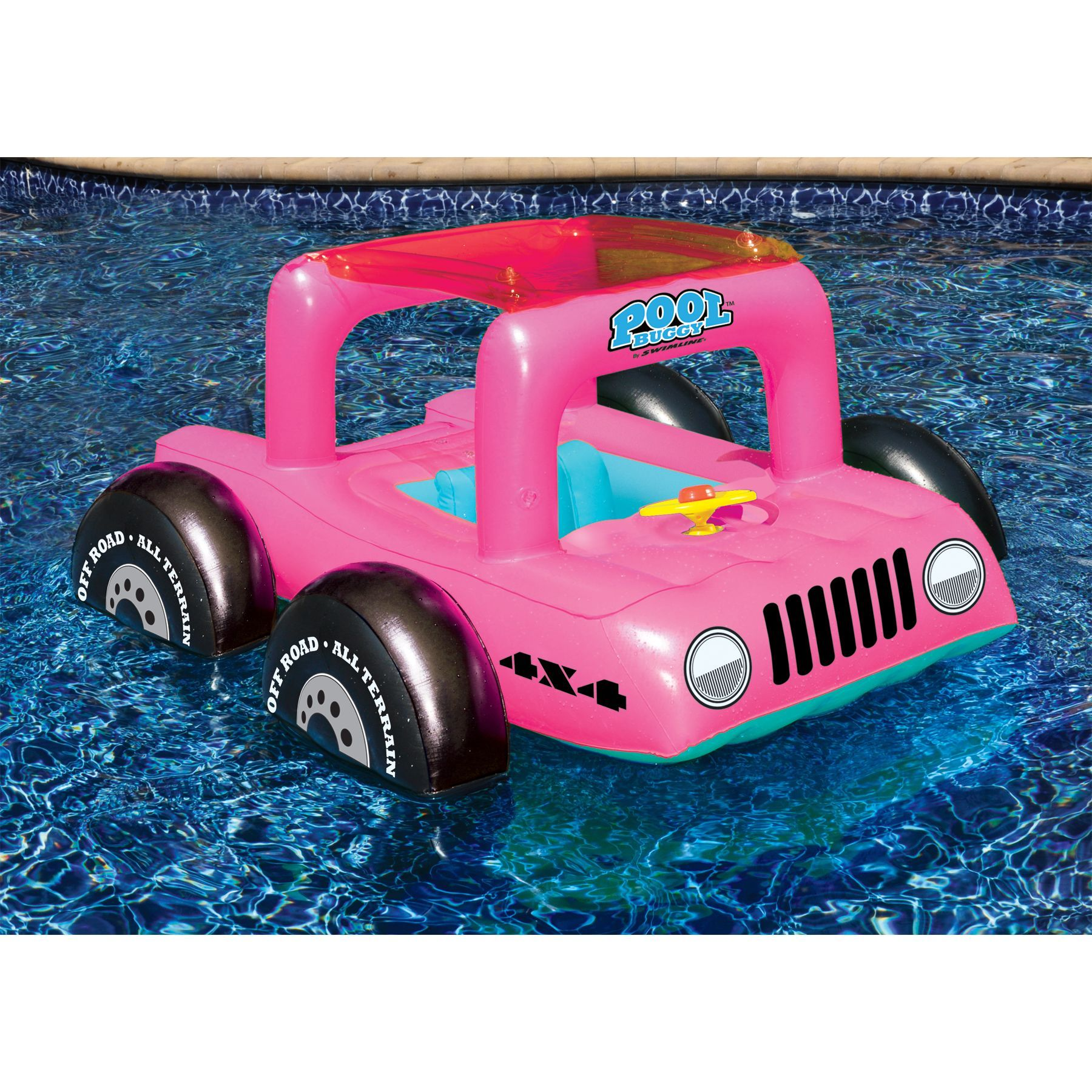 Flotadores Para Piscinas Swimline Pool Buggy Kiddie Float Pool Flotadores
