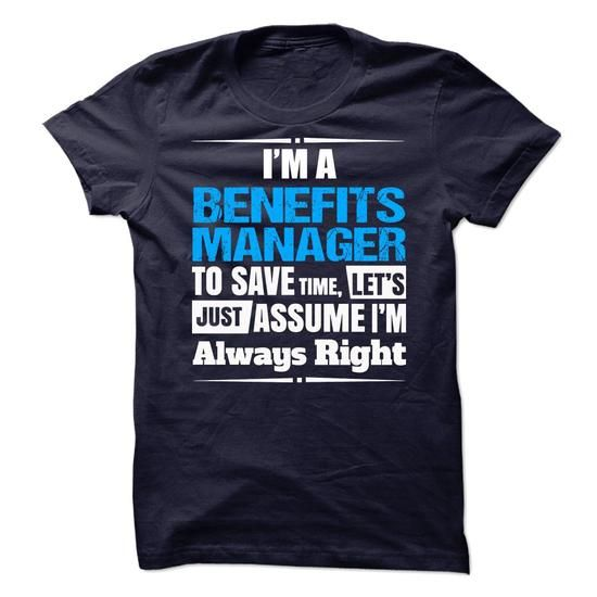 Benefits Manager - #long tshirt #black hoodie. PRICE CUT => https://www.sunfrog.com/No-Category/Benefits-Manager-66376678-Guys.html?68278