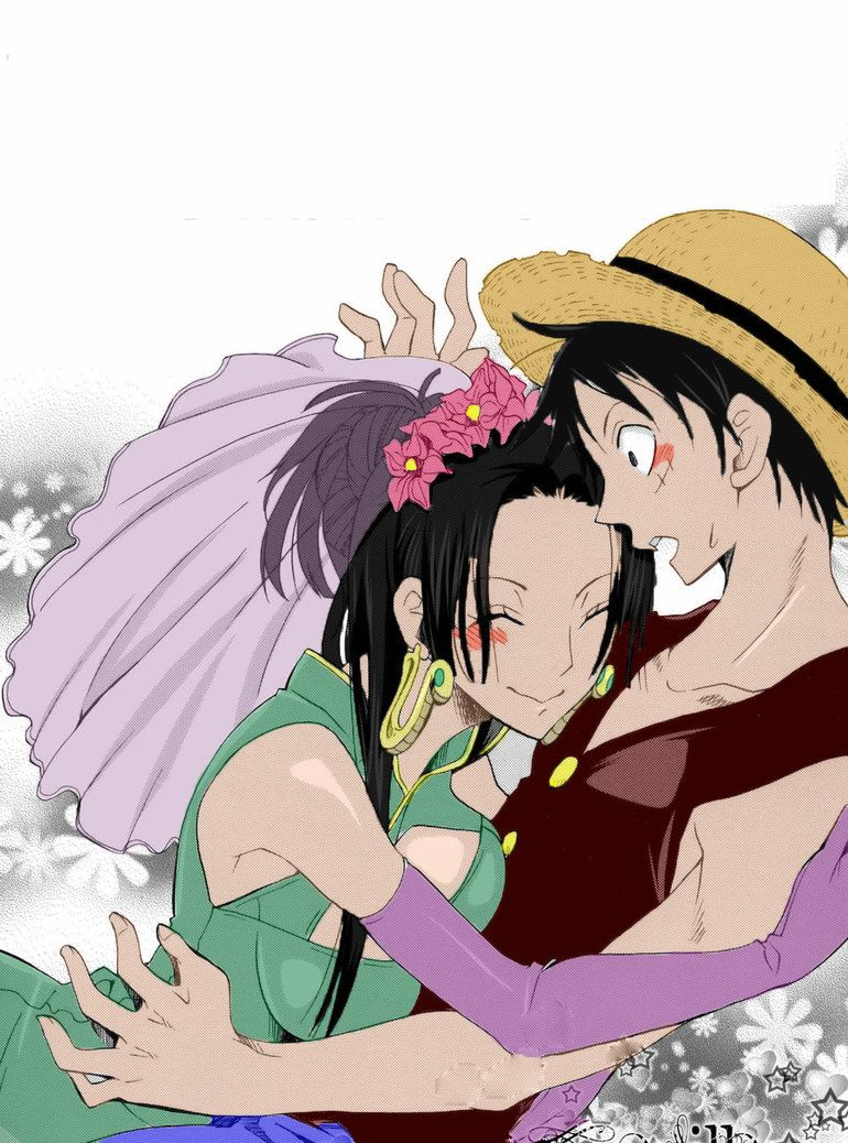 Luffy x hancock tumblr one piece ships 3 pinterest anime couples and anime - One piece luffy x hancock ...