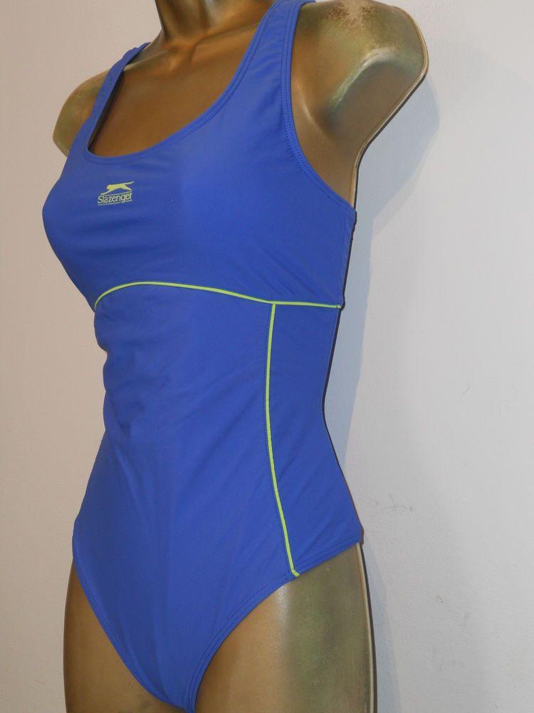 3a7e3949faf LADIES BLUE SLAZENGER RACER BACK SWIMSUIT SIZE 14 SWIMWEAR  fashion   clothing  shoes  accessories  womensclothing  swimwear (ebay link)
