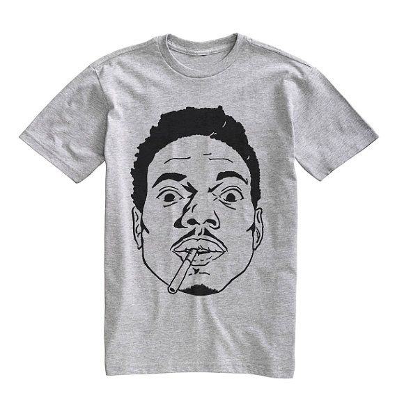 Unisex Chance The Rapper White Tank Top