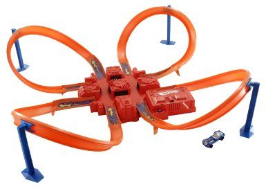 Amazon.com: Hot Wheels Criss Cross Crash Track Set: Toys & Games