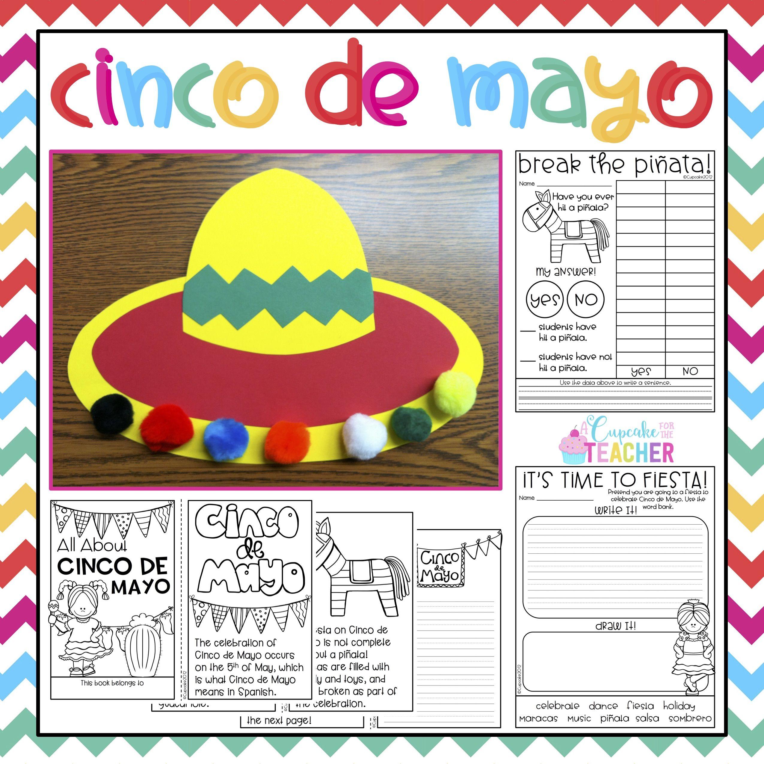 Cinco De Mayo Craftivity Printables Amp Reader With