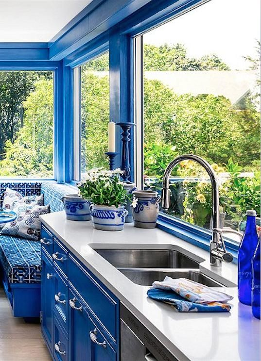 5 Fresh Kitchen Paint Colors Cobalt Blue Paint Colors