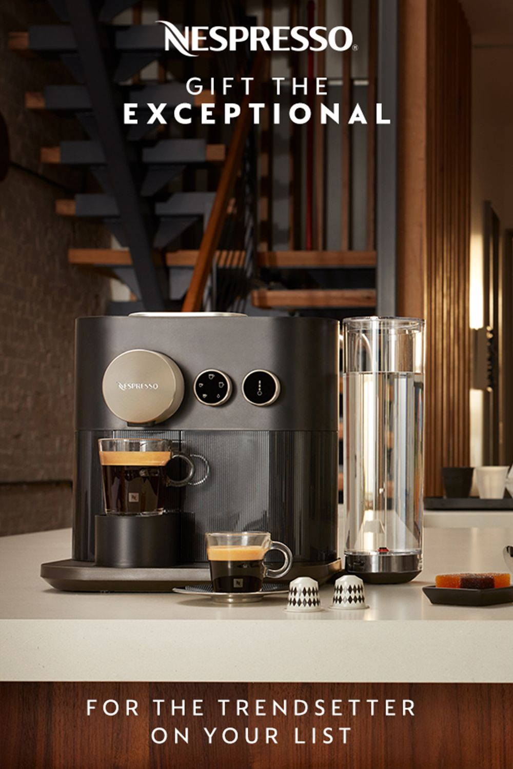 The Nespresso Expert is more than a machine It's a