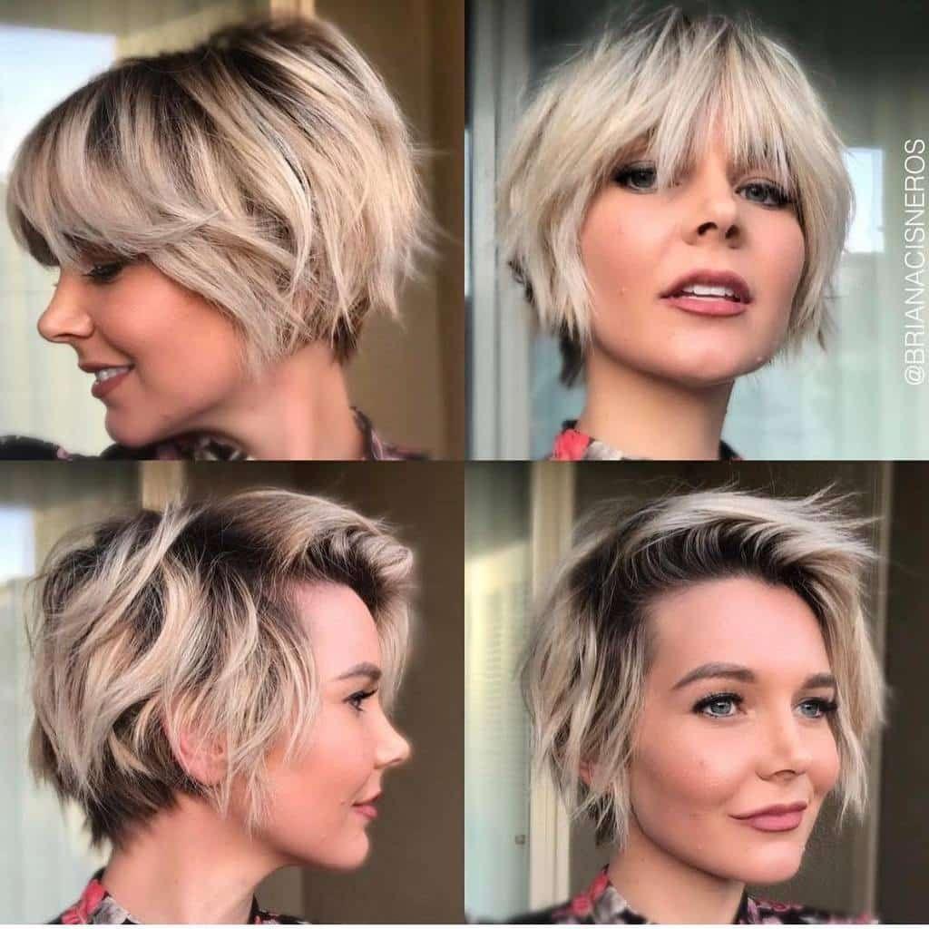 Kurz u Sexy Frisuren für Feines Haar  feines Frisuren für