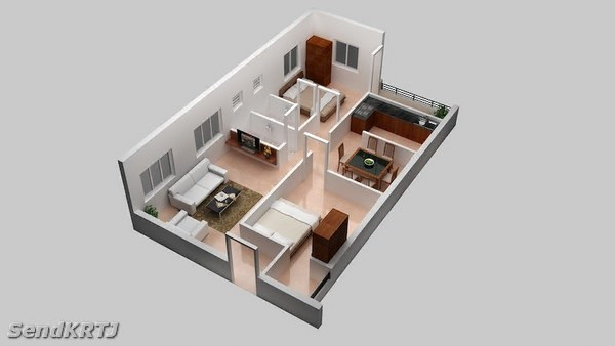 Finest 600 Sq Ft House Plans 2 Bedroom Indian Style In 2020 House Plans Home Design Floor Plans 1200sq Ft House Plans