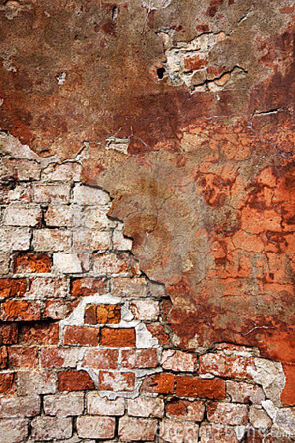 Stucco And Brick Wall Brick Art Textured Wall Brick Wall