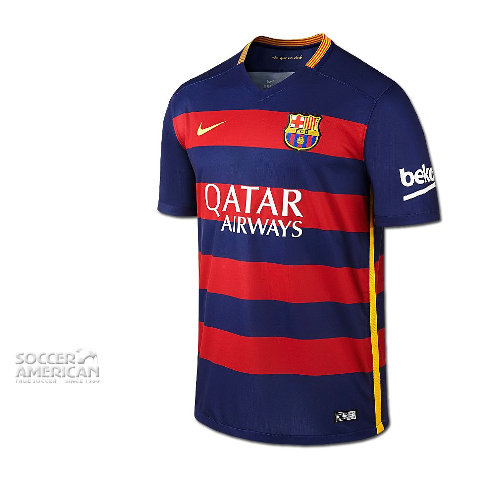 NIKE FC Barcelona Home 2015/2016 Jersey - Mens (NVCDYL)