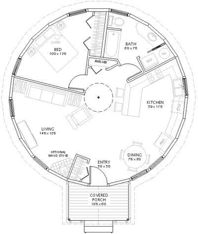 Yurt Floor Plans Yurt Home Yurt Round House Plans