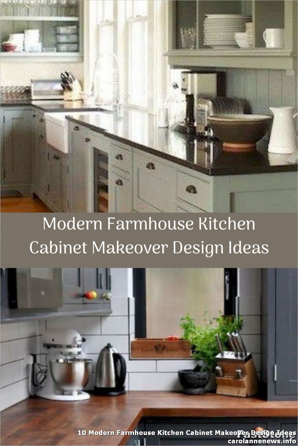 10 Modern Farmhouse Kitchen Cabinet Makeover Design Ideas The Kitchen Addition In 2020 Modern Farmhouse Kitchens Farmhouse Kitchen Cabinets Kitchen Cabinets Makeover