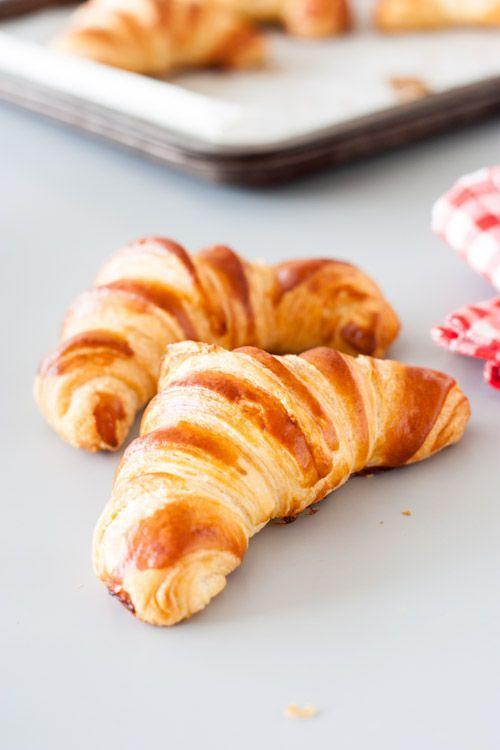 Les croissants maison : Toutes les recettes et conseils de cuisine | Pâte levée feuilletée ...