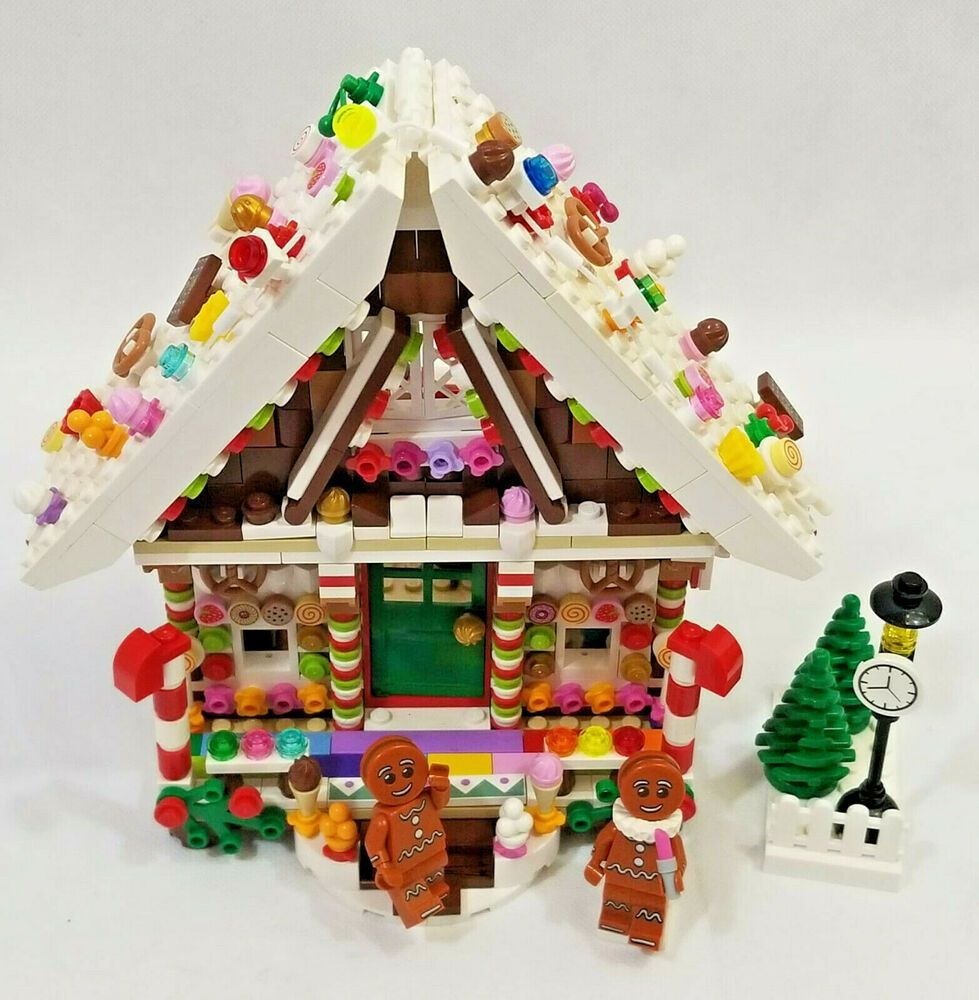 LEGO MOC My Own Creation 2019 Gingerbread Cottage + Mini