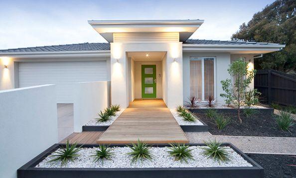 Eingangsbereich im haus gestalten ideen  vorgarten modern | Garten / Blumen | Pinterest