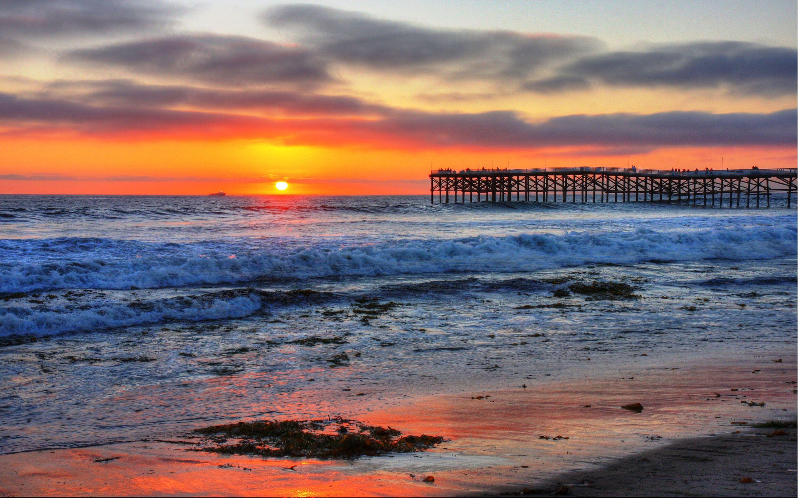 california-beach-sunrisepacific-beach-sunrise-san-diego ...