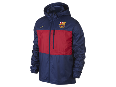 FC Barcelona Winger Authentic Men s Soccer Jacket  4c0be00622a61