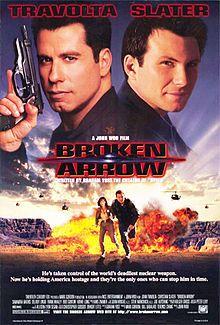 Broken Arrow Christian Slater John Travolta Film Movie