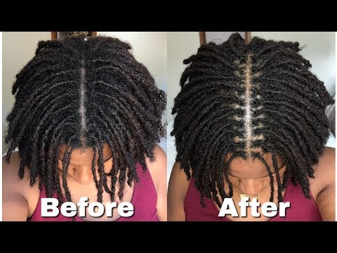 How To Interlock Locs Very Detailed Tutorial Youtube I Like This Size These Are Possibly My Locs Short Locs Hairstyles Locs Hairstyles Interlocking Locs