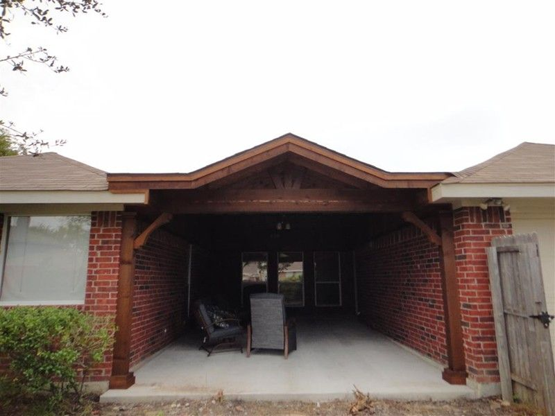Shed With Gable Patio Covers Gallery Highest Quality Waterproof Patio Covers In Dallas Plano And Surrounding Texas Tx Covered Patio Patio Hardscape Patio