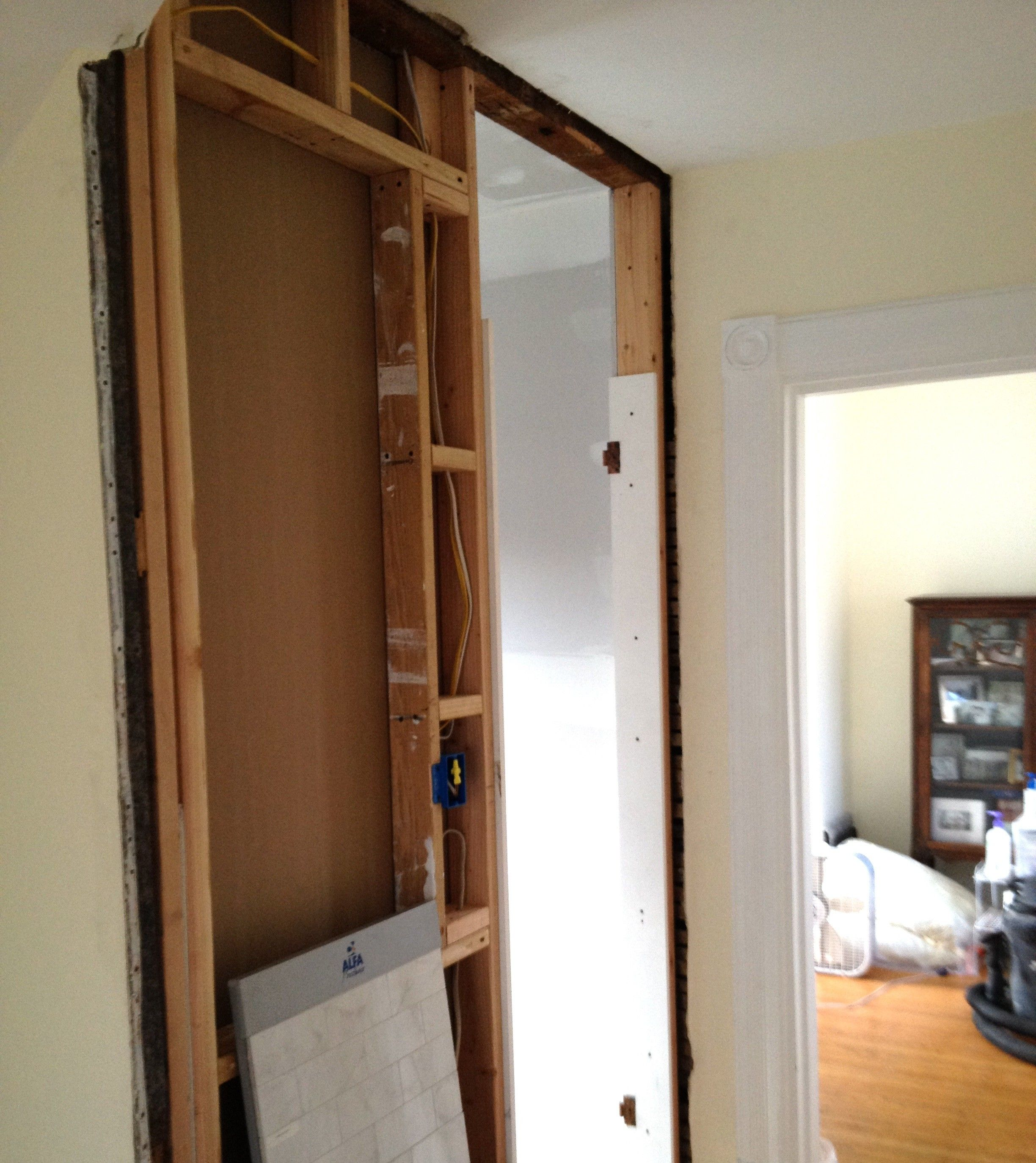 A Custom Medicine Cabinet... Making Progress