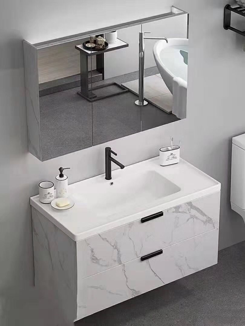 Best Price Bathroom Vanity With Mirror Cabinet Washbasin Design Bathroom Design Decor New Interior Design
