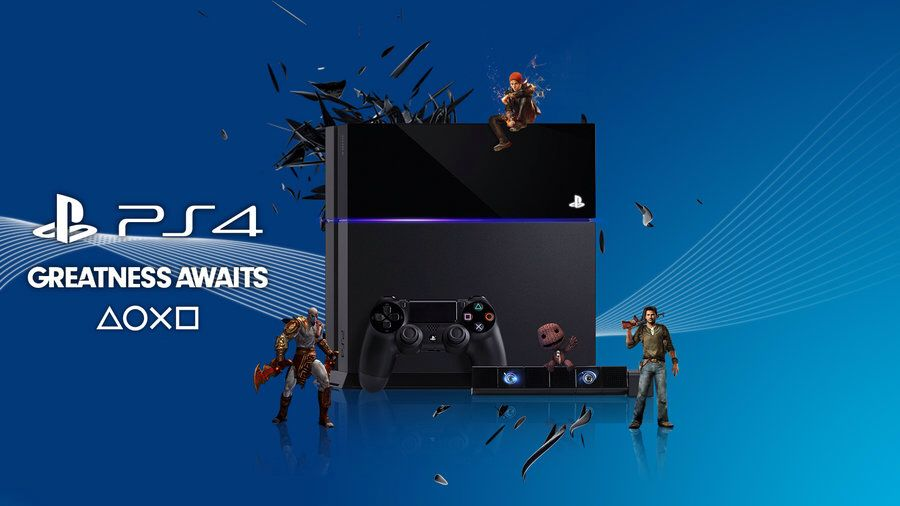 Greatness Does Await Only With The Ps4 Playstation Art Wallpaper Greatful