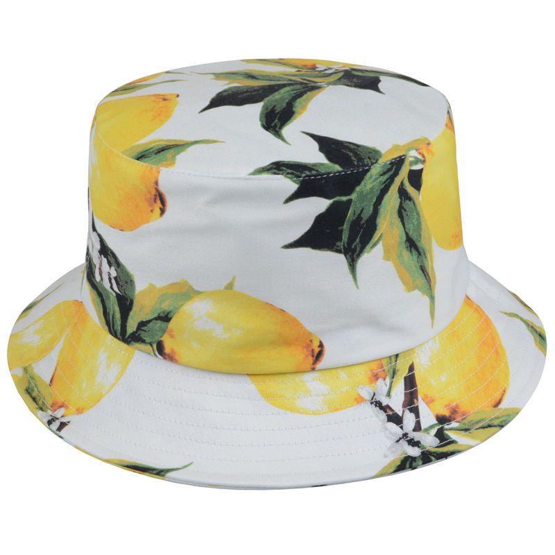 sustainable fashion bucket hat Lemon Bucket Hat fruity