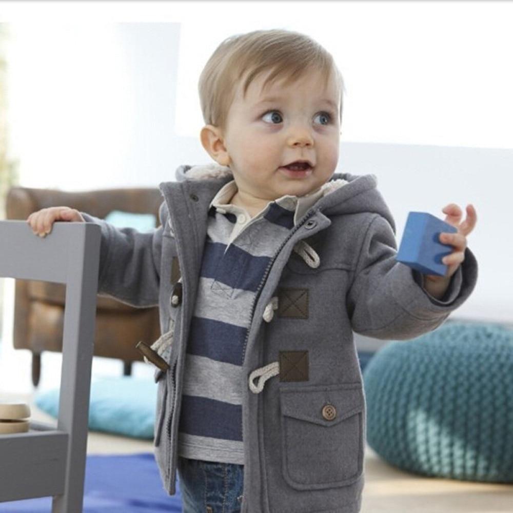 Children Baby Boys Button Zipper Coats Jacket Boy Outerwear Baby Outerwear Kids Outfits [ 1000 x 1000 Pixel ]