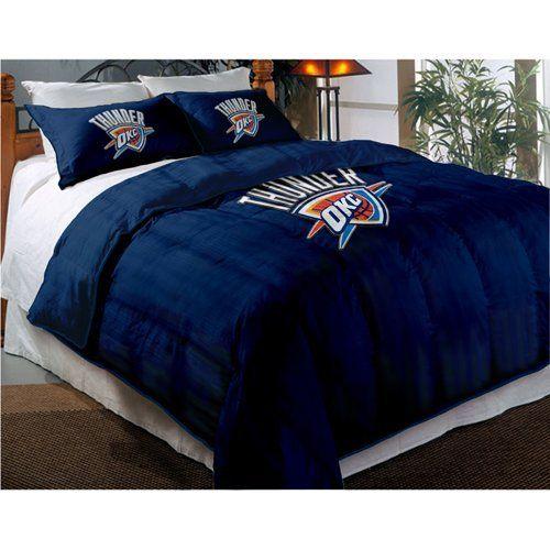 NBA 3 Piece Comforter Set NBA Team: Oklahoma City Thunder, Http://