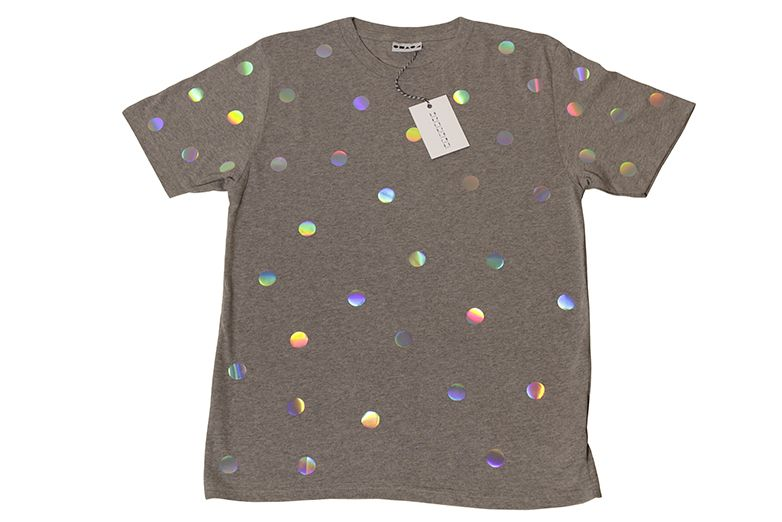 LTD Metallic polka T-Shirt - Shapes Of Things LTD