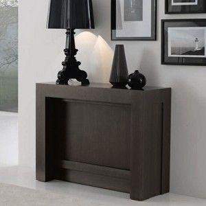 Mesa consola extensible y robusta hogar y muebles for Mesa consola extensible