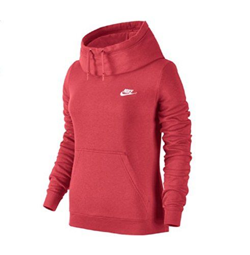 Women's Athletic Hoodies - Nike Womens Funnel Neck Hoodie 803636850 >>> Learn more by visiting the image link.