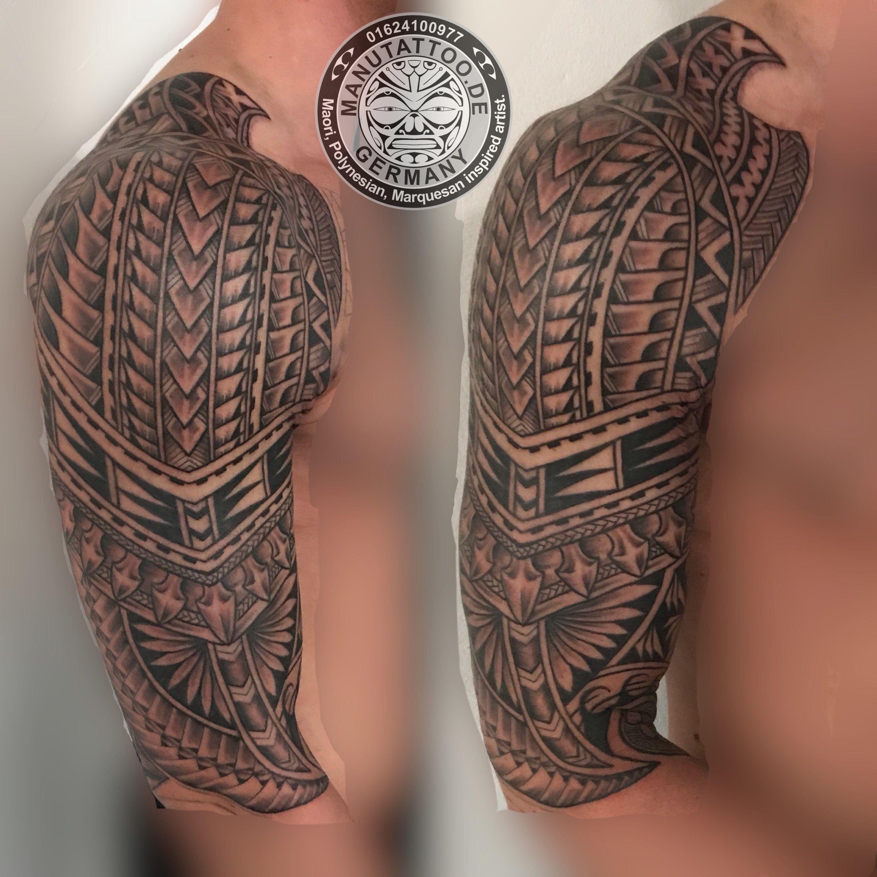 Polynesian Inspired Tattoo Freehand By Manu At Manu Tattoo