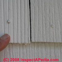 Old Asbestos Shingles On Your House Aren T Dangerous Unless You Start Breaking Scraping Or Otherwise Disturbing Them This Asbestos Siding Shingling Asbestos