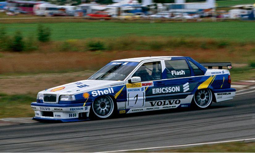 850 running in the BTCC series Volvos Racing