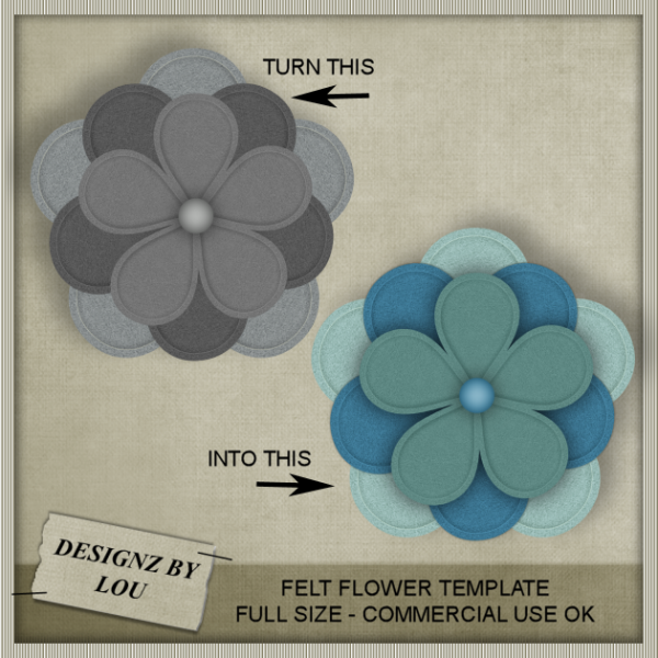 felt flowers – felt #feltflowertemplate