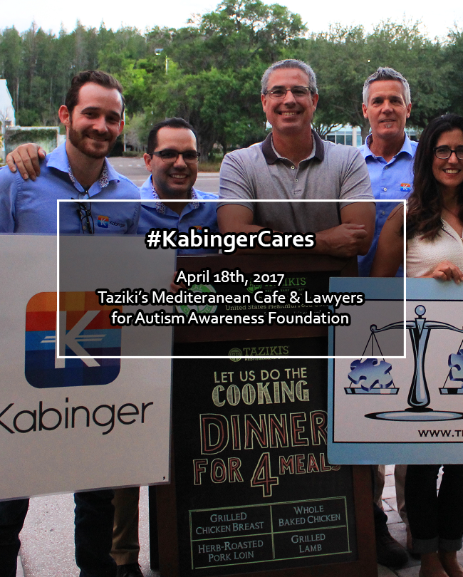 Thanks to everyone who came out to the event! #KabingerCares