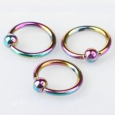 Colorful Nose Hoops Body Jewellery Nose Rings Hoop Jewelry